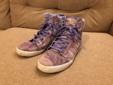 Supra Muska skytop 001 Hi Top Purple Suede Tie Dye US 11.5 Rare Color