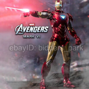 ZD Toys Iron Man 2 MK6 Mark VI 7'' Marvel MCU 18cm Action Figure IN STOCK
