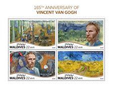 Maldives 2018   Vincent van Gogh paintings S201808