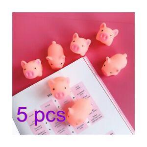 5X Pig Animal Kawaii Mochi Squeeze Toys Stretch Cute Stress Relief Splat Ball
