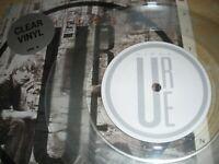 """Midge Ure Wastelands 7"""" Single in Picture Sleeve Clear Vinyl 1986 Chrysalis URE3"""