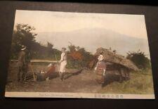Vintage Japan Postcard - View of Fuji from Otometoge , Hakone