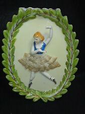 Ballerina with Lace Tutu Wall Pocket