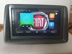"Autoradio ANDROID 10 fiat panda TOUCH 7"" navigatore GPS Bluetooth"
