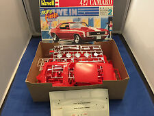 Revell 1969 Camaro 427 Model Car OPEN Kit #7426 1/25 Scale NO INSTRUCTIONS K3