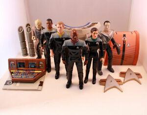 "PLAYMATES 5"" STAR TREK WARP FACTOR Deep Space Nine DS9 Custom Figure lot"