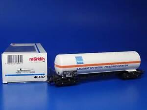 MARKLIN H0 - 48482 - SAUERSTOFFWERK FRIEDRICHSHAFEN - TANKER CAR / BOX - NEW