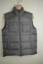 banana republic feather and down filled gilet vest jacket s