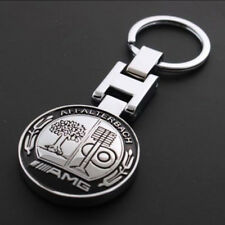 New Metal Mercedes Benz AMG Keychain Creative Accessories Auto Parts Car Keyring