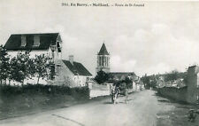Carte MEILLANT Route de Saint Amand La carriole