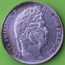 QUALITE FRANCE 5 FRANCS LOUIS PHILIPPE 1848 BB