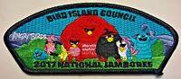 BSA 2017 BOY SCOUT JAMBOREE ORDER OF ARROW OA PATCH CSP JSP ANGRY BIRDS COOL!