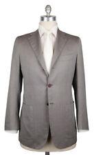 New $6900 Kiton Light Brown Herringbone Suit - 38/48 - (UA896F1928R7)