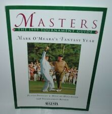 1999 Masters Tournament Guide, golf, Augusta