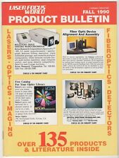 Laser Focus World Product Bulletin Fall 1990 (30 pgs)