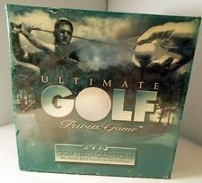 Ultimate Golf Trivia Game - Factory Sealed - 2400 Golf Trivia Questions 1997 NIP
