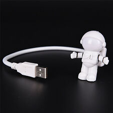 USB LED Adjustable Night Light Flexible Spaceman Lamp For Computer PC F&F
