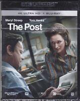 4K UltraHD + Blu-ray THE POST con Meryl Streep Tom Hanks nuovo 2017