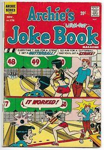 Archie's Joke Book Magazine #178 (1972) – Betty & Veronica – Reggie – FN+