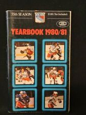 1980-81 NEW YORK RANGERS HOCKEY YEARBOOK FEATURING PHIL ESPOSITO