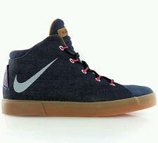 Nike LeBron XII NSW Denim Lifestyle QS Uk 12 EUR 47.5 Mightnight Navy 716424-400