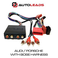 AUDI PORSCHE WITH BOSE SYSTEM CAR HARNESS LEAD ADAPTOR PC9-408