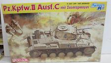 CHAR D'ASSAUT PZ. KPFW. II Ausf.C mit zusatzpanzer Maquette 1/35eme DRAGON 6432