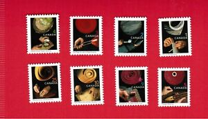 1999 to 2006  SET (8)  CANADA  STAMPS   # 1673 to 1680  TRADITIONAL TRADES  OC20