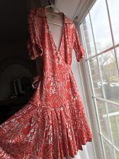 Diane von Furstenberg  silk wrap dress US 2