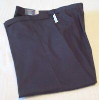 Mens Croft & Barrow Black Pleated/Cuffed Cotton Blend Slacks/Pants, 38x34, NWT