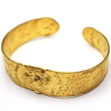 Thai Amulet Authentic Wat LP Pern Tiger Talisman Fortune Bracelet Protect Luck