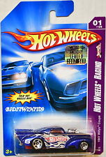 HOT WHEELS 2007 HW RACING 1941 WILLYS COUPE #01/04 BLUE FACTORY SEALED