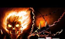 Ghost Rider Poster Length :800 mm Height: 500 mm SKU: 4152