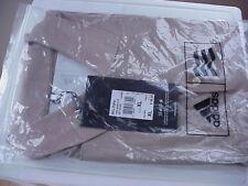 New ADIDAS Clima Lite MCLPqPol Solid XL (Stone) Golf Polo Shirt