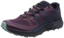 SALOMON Women's 8 Sense Ride Running Trail Shoes Potent Purple/Graphite/Navy Blz