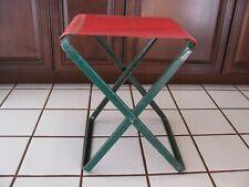 1 Rare Vintage Metal Coleman Folding Camp Chair