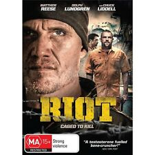 RIOT-Dolph Lundgren, Chuck Liddell-Region 4-New AND Sealed