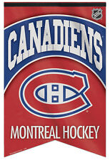 MONTREAL CANADIENS NHL Hockey Premium Collector's Felt WALL BANNER