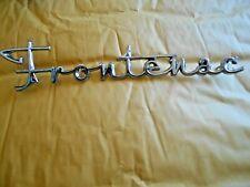 1960 Ford Frontenac hood script emblem grill? Canadian Falcon CD C0DB16604 A.