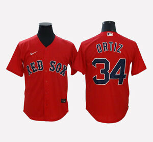 Boston Red Sox #34 David Ortiz Cool Base Men's Stitched Jersey