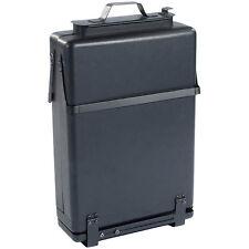 Koffergrill: Klappbarer Picknick-Koffer-Grill mit Hitzeschutz (geschloßen)