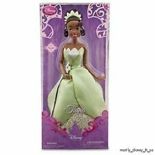 "New Disney Store Princess & the Frog Tiana Classic Toy Doll 12"" Deluxe Poseable"