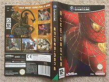Inserto de cubierta sólo Hombre Araña 2-Caja de Gamecube sólo Portada