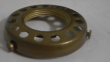 "NEW 2 1/4"" Fitter Screw-on Uno-type Shade Holder Antique Finish Brass  #SHH86A"