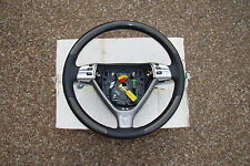 PORSCHE OEM CARBON FIBER & BLACK LEATHER TRI-TRONIC STEERING WHEEL FOR 997 & 987