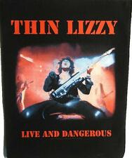 "THIN LIZZY RÜCKENAUFNÄHER / BACKPATCH # 2 ""LIVE AND DANGEROUS"""