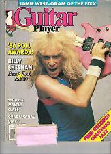 GUITAR PLAYER December 1986 BILLY SHEEHAN Best Rock Bass Ron Eschete RECORD GOOD