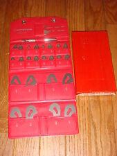 Mitutoyo 186 901 Stainless Steel Radius Gage Set 164 To 12 25 Pcs