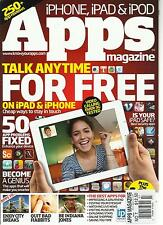 iPHONE, iPAD & iPOD APPS MAGAZINE, NO.7 ( TALK ANY TIME FOR FREE)250 APP REVIEWS