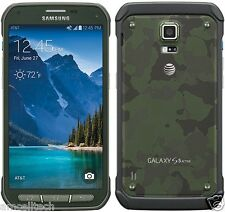 Samsung Galaxy S5 Active SM-G870A AT&T GREEN LTE 16GB 16MP (Latest Model) GREAT
